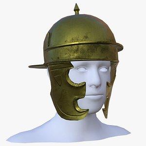 g roman helmet coolus 3D model