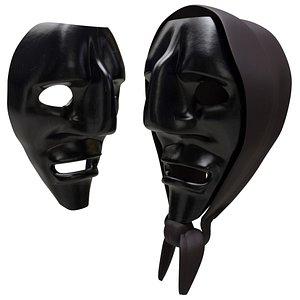 3D Mamuthones mask