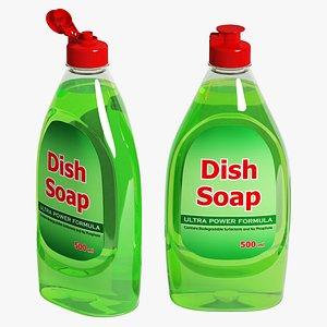 3D Dish Soap 02