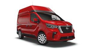 Nissan NV 300 Van L1H2 2021 3D model