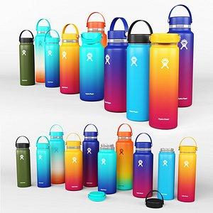 Hydro Flask Water Bottle 3D model