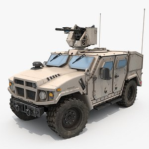 Armoured Military Vehicle 3D model