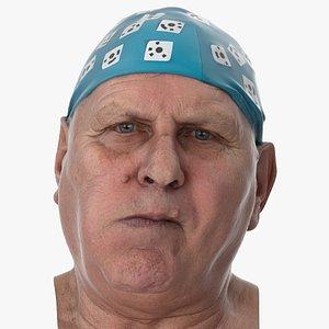 Homer Human Head Tongue Bulge Right AU36 Clean Scan 3D model