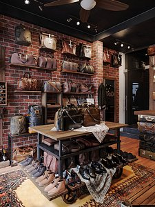 3D leather shop