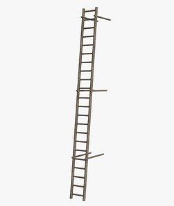 Industrial Vertical Stair model