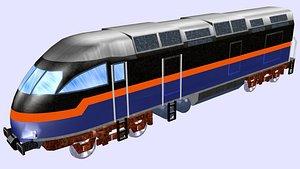 3D mp36ph-3c railrunner diesel locomotive