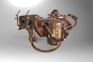 Bioshock - Rivet Gun 3D