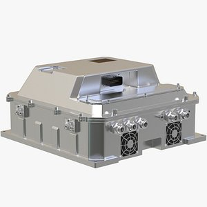 3D model EV Air Condition System