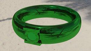 3D Green Lantern Ring model