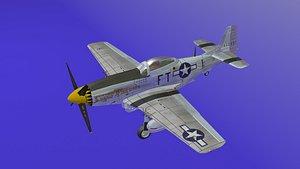 3D model p-51Mustang