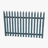 Wooden Fence V2