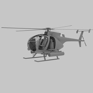 mh-6 little model