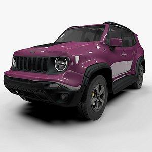 Jeep Renegade Pink Trailhawk 2019 L1389 model