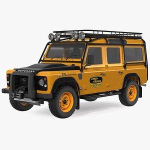 Land Rover Defender Works V8 Trophy Clean Rigged model