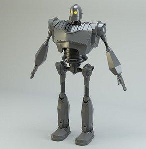 iron giant 3D model