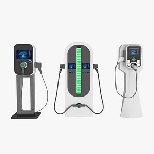 3D electric vehicle charger