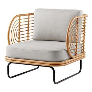 modernist chair seat 3D model