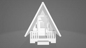 3D model Tiny cabin
