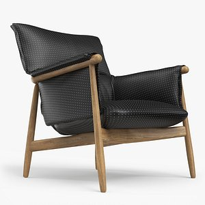 3D e015 lounge chair model