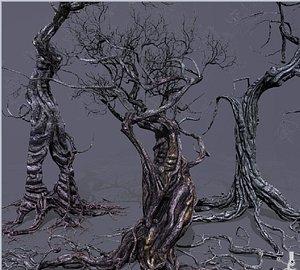Smart Ancient Trees 3D