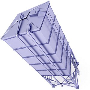 3D Rectangular Silo Storage 18