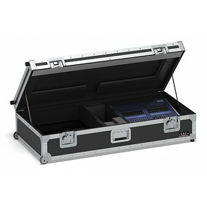 3D Flight Cases With Device Small 01