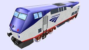amd 103 diesel engine 3D model
