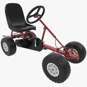 3D Pedal Gokart