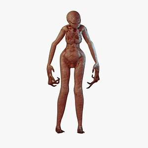 creepy monster 3D model
