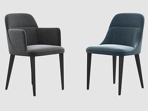 3D jackie chair gallotti radice model