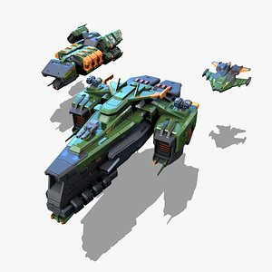 RTS Space Games Vol - 01 3D model