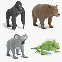 Cartoon Animal Collection 3
