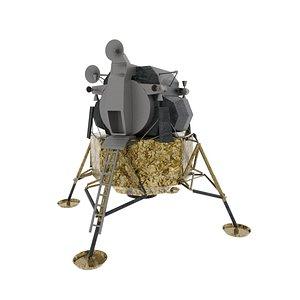 apollo lunar module 3D model