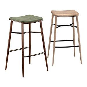 3D model Bar stool Naika L SG
