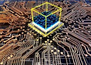 3D 5G Chip CPU
