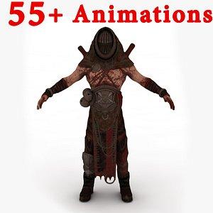 3D model Priest Horny