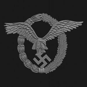 wwii german badge pilot model