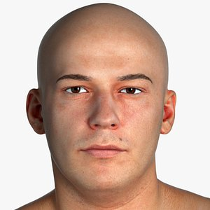 head man human 3D