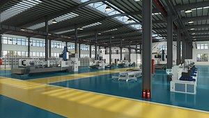 3D model Factory Workshop