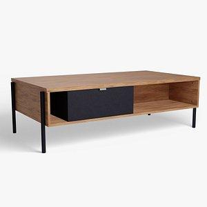 3D Scandinavian Coffee Table model