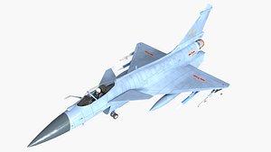 3D j-10 j-10b model