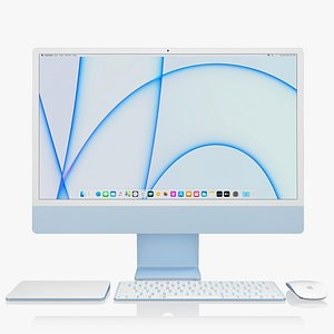 Apple iMac 24-inch 2021 full set 1 model