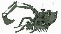 Rheinmetall Kodiak AEV 3 Bysanders 3D Models