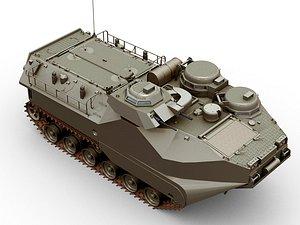 AAV-7A 3D model
