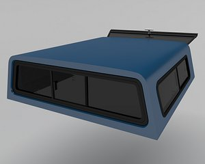 camper shell 3D model