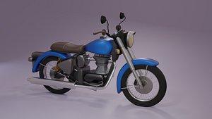 3D motorcycle motorbike vehicle model