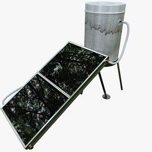 3D Solar Heater Boiler