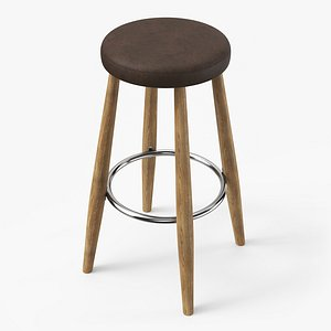 3D model ch56 bar stool