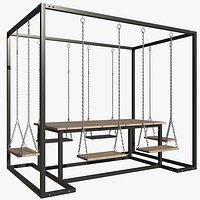 Garden Swing Table