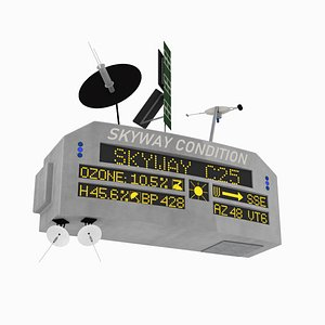 3D Hill Valley 2015 Skyway condition sign